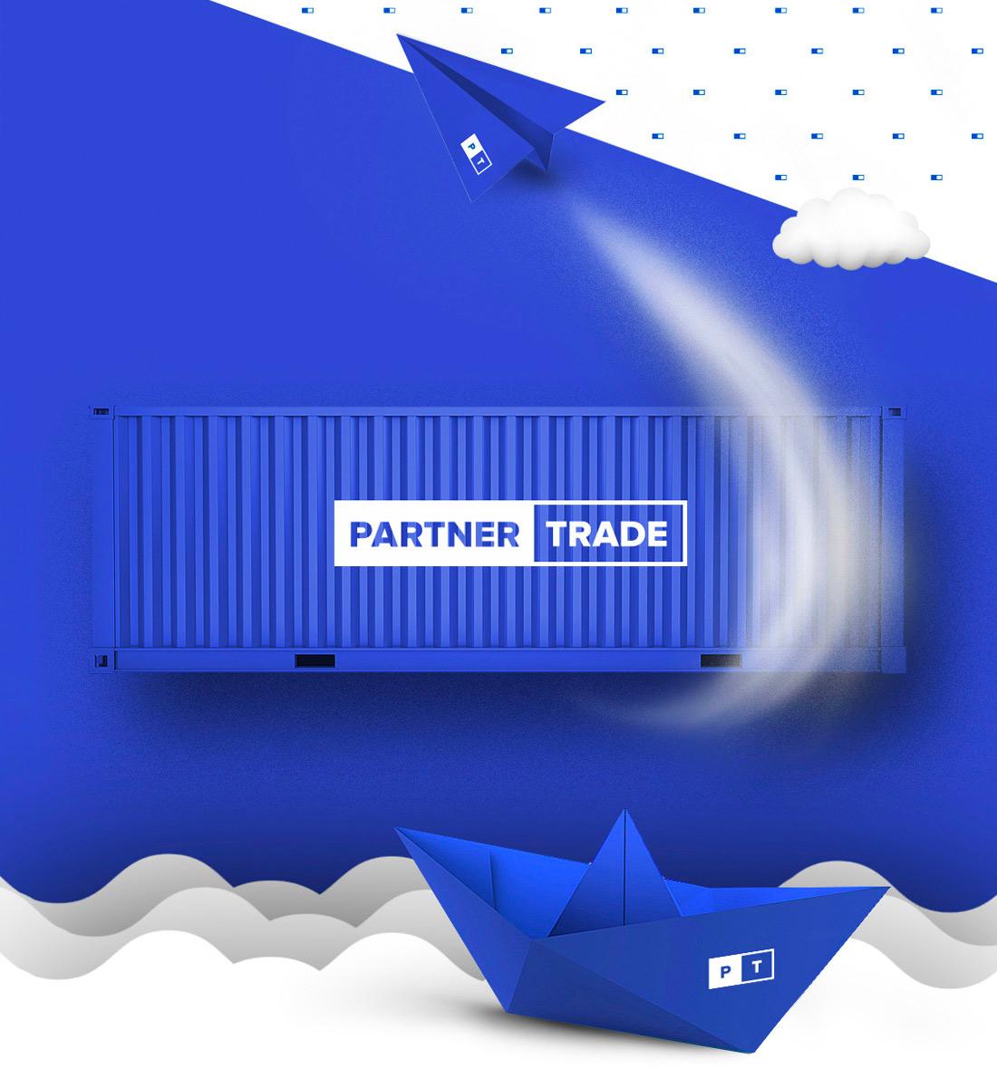 Разработка сайта компании Partner Trade